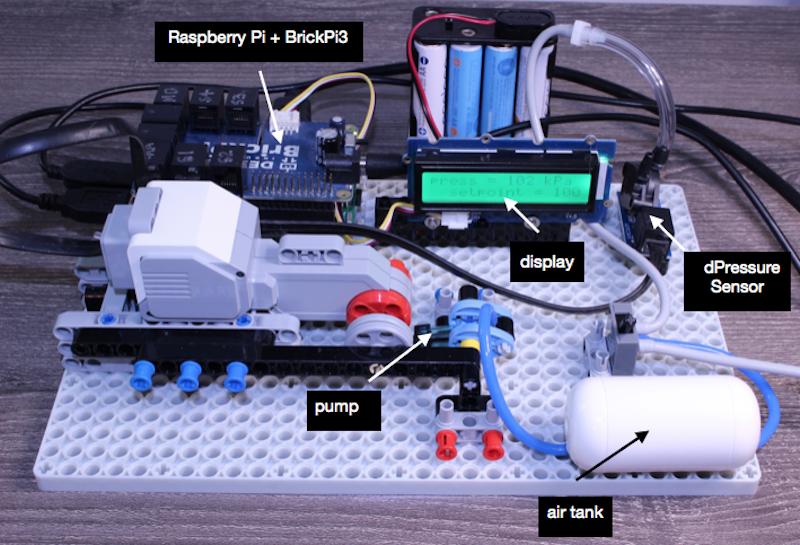 LEGO Regulated Air Compressor